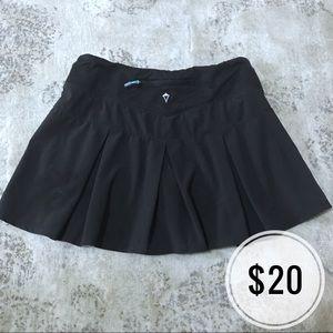 Ivivva Girls Black Tennis Skirt